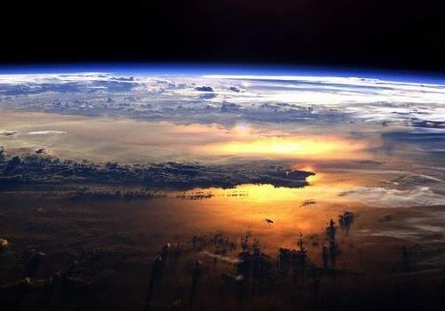 GeoTech Center's inspiring image of earth from space