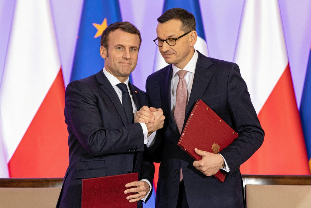 France and Poland: Helicopters, forks, and reconnections