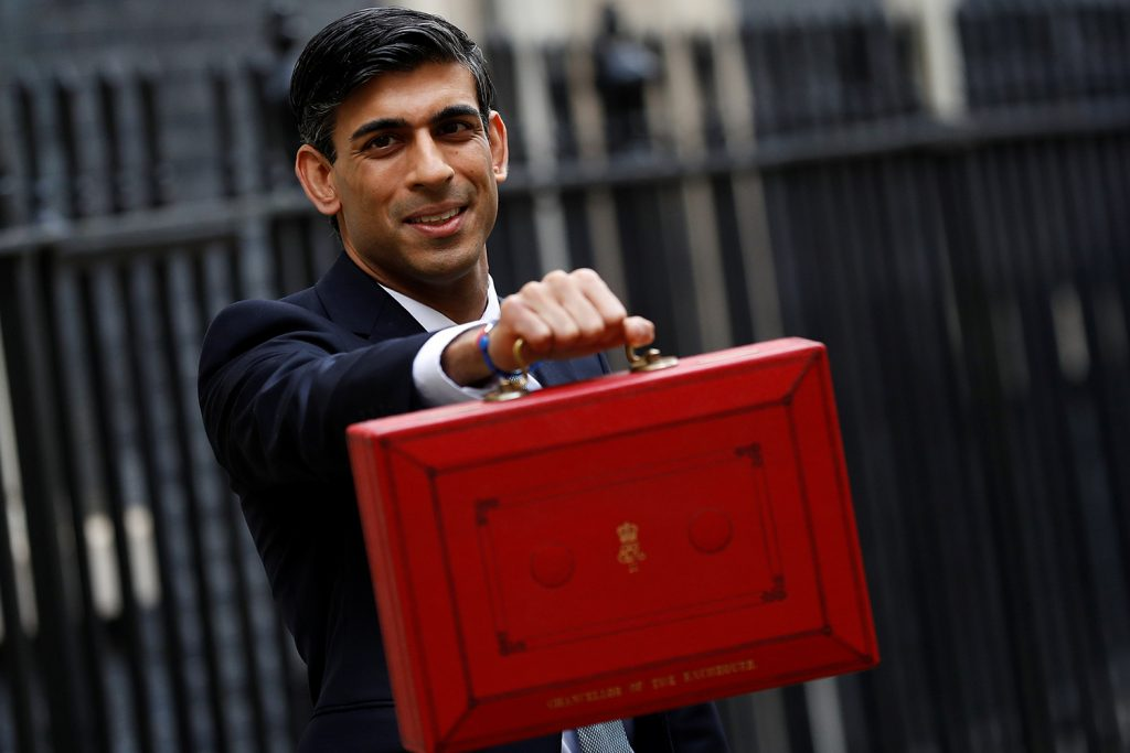 New British budget takes coronavirus head-on