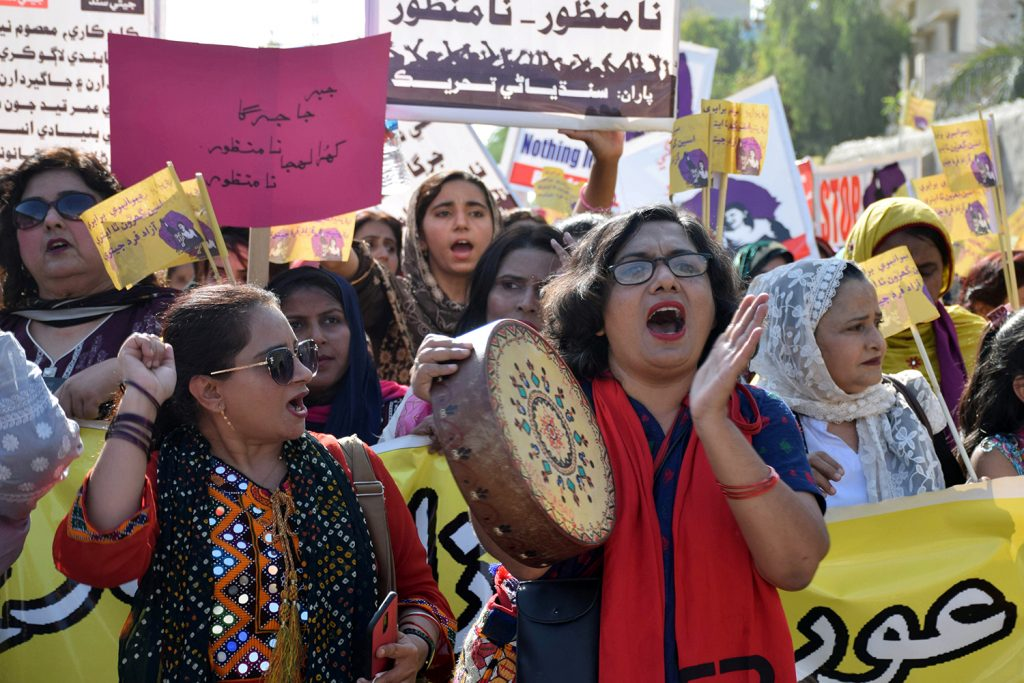 Women's activism in Pakistan: Limits on freedom of choice, speech, and visibility in the public sphere