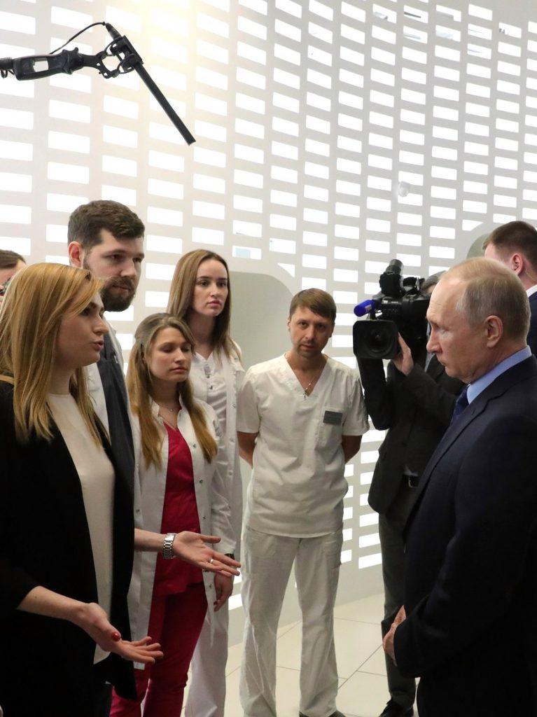 The Kremlin and coronavirus