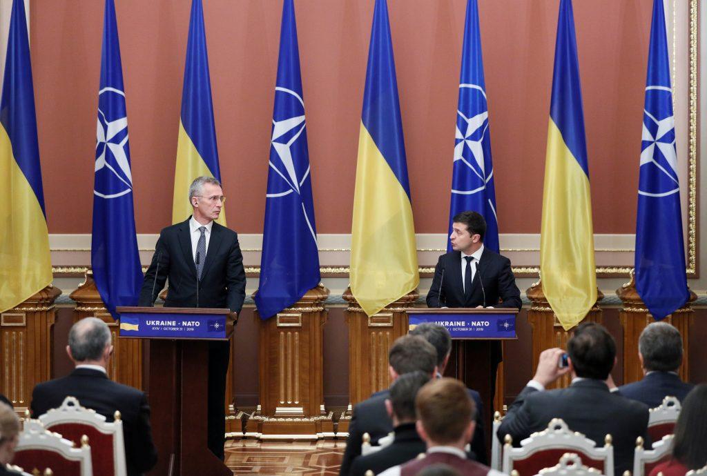 Strengthening ties between NATO, Ukraine and Georgia