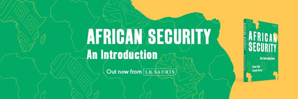 'African Security: An Introduction' book launched with discussion of US security engagement in Africa
