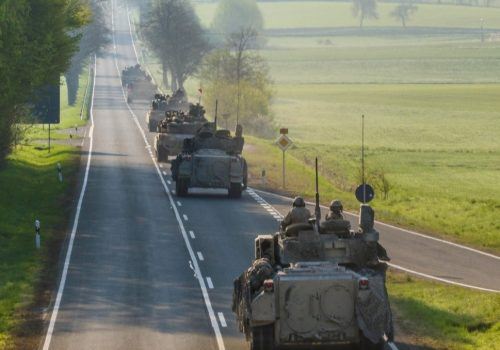 NATO's defense depends on mobility