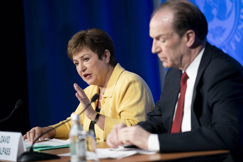 IMF managing director urges more global action to soften coronavirus' economic toll