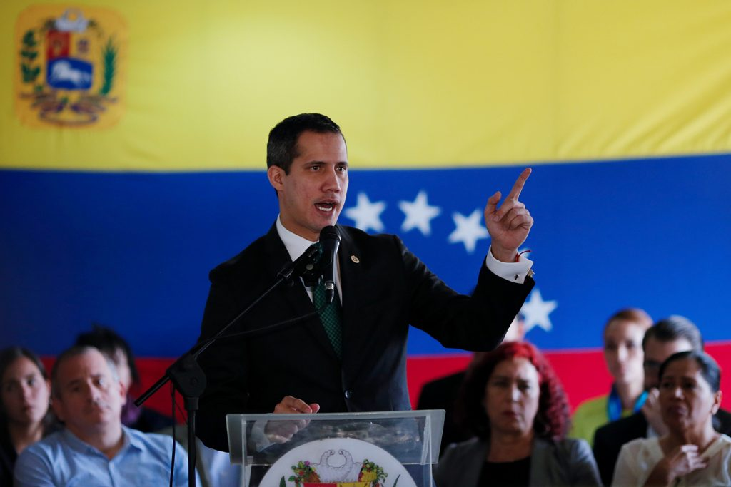 Coronavirus will worsen Venezuela's emergency, interim president says