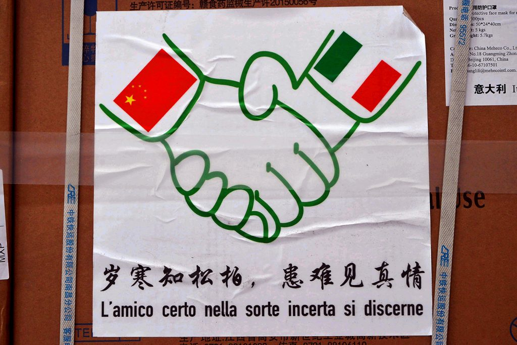 Polls show concerning effect of Chinese coronavirus charm offensive in Italy