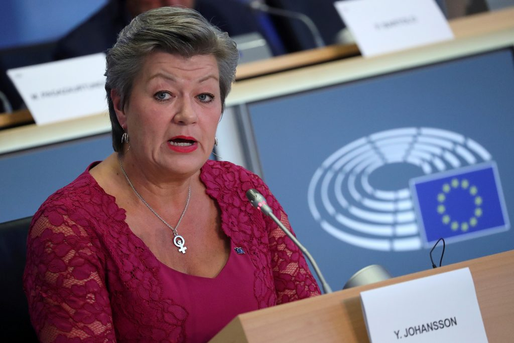 """""""We must unite our forces and stick to our fundamental values"""" during coronavirus crisis, EU commissioner says."""