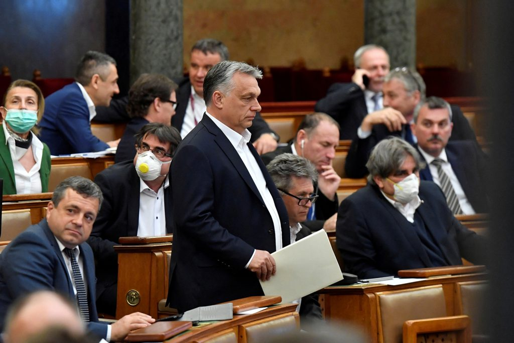Addressing Hungary's coronavirus emergency legislation