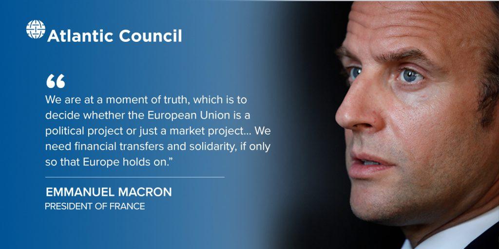 Tile Emmanuel Macron FT