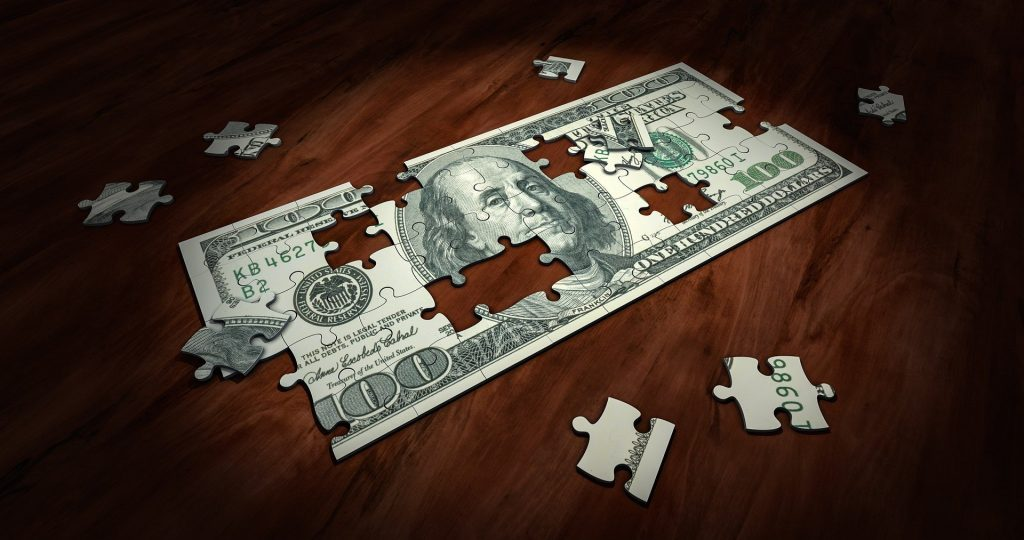 gtc photo of the dollar as a puzzle piece