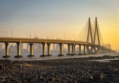 Bandra Worli Sea Link, Mumbai, India