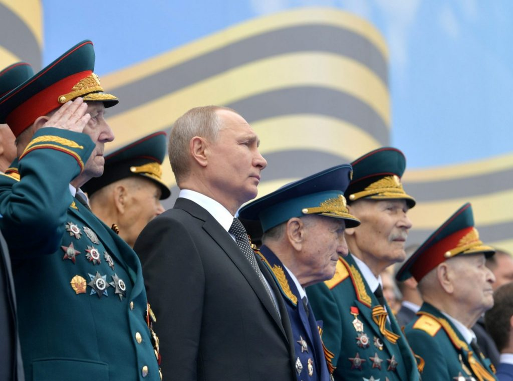 Putin has hijacked WWII to justify Russian aggression