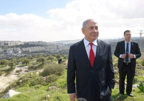 The battlefield over West Bank annexation