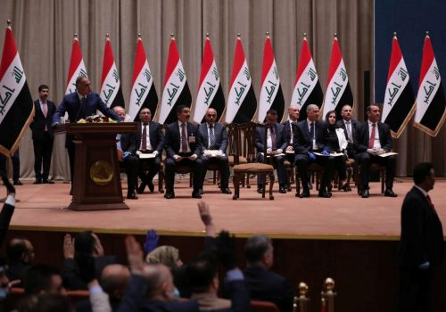Iraq's new prime minister must manage expectations