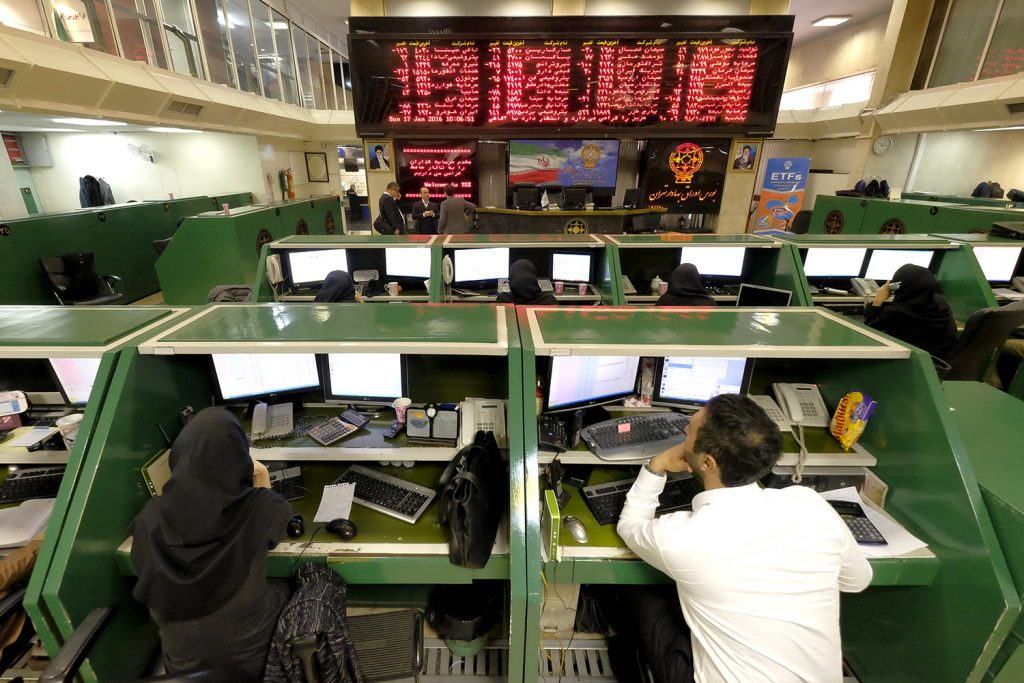 Iran's stock market: Growth in the midst of a recession?
