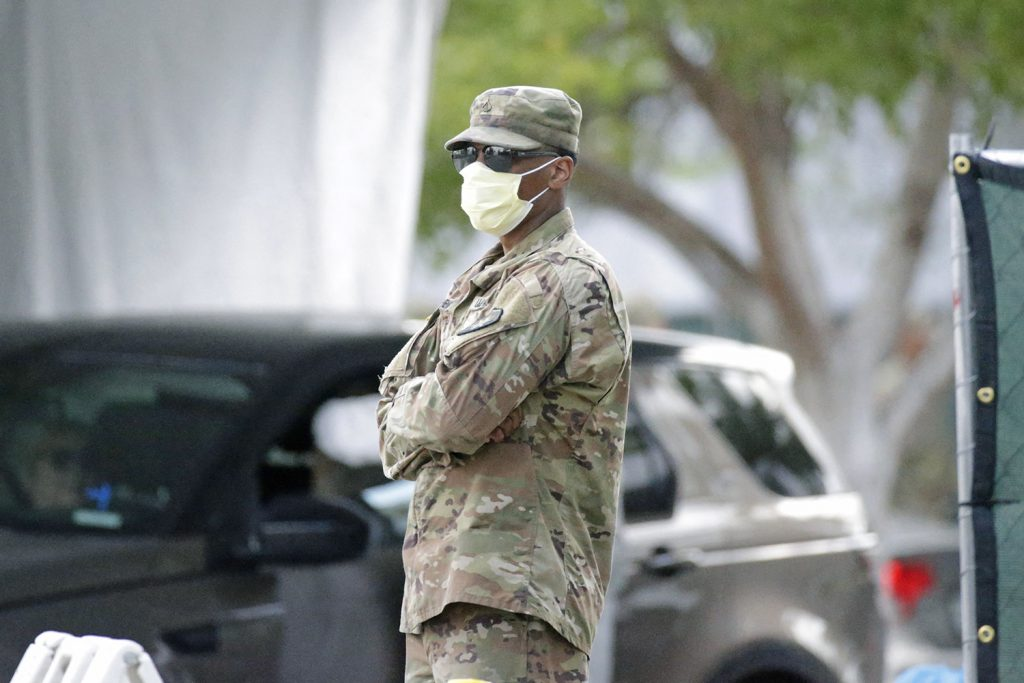 National Guard's COVID-19 response combines civilian skillsets with unique military utility
