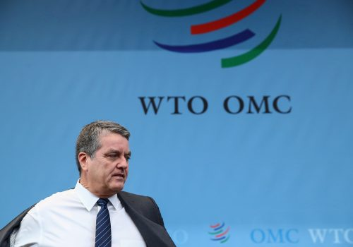 The WTO needs a new DG: No time for business as usual