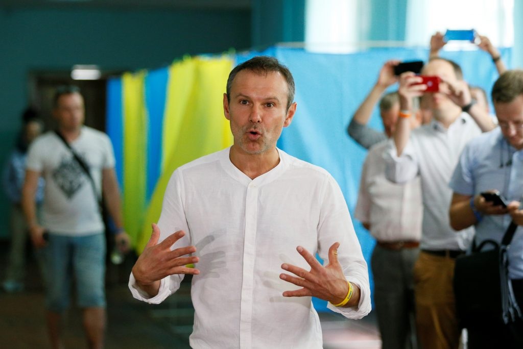 Mission accomplished? Vakarchuk quits but his political party lives on