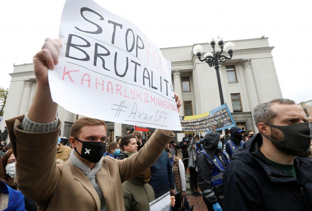 Ukraine's powerful Interior Minister Avakov under fire over police reform failures
