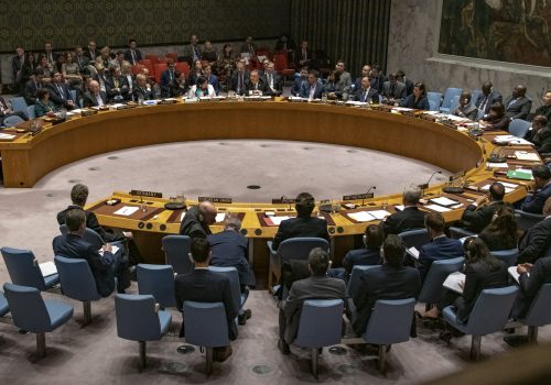 United Nations arms embargo on Iran