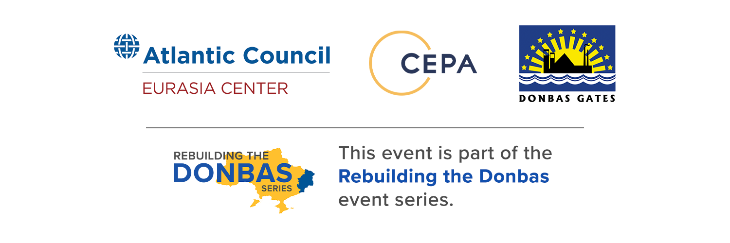 This event is part of the Rebuilding the Donbas event series.