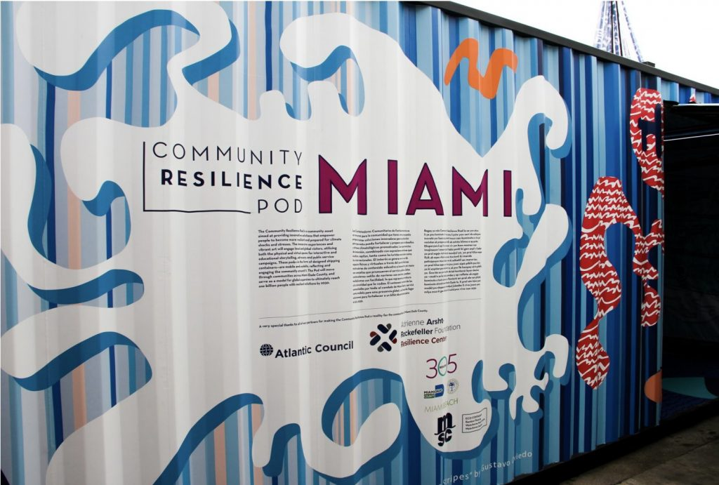 South Florida Officials, Resilience Experts Deploy First-Ever Mobile Resilience Pod for Rising Seas, Increased Temperatures and Pandemic Relief Efforts