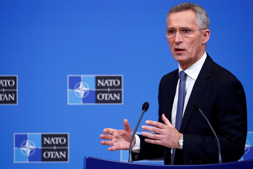 NATO secretary general unveils his vision for the Alliance's future