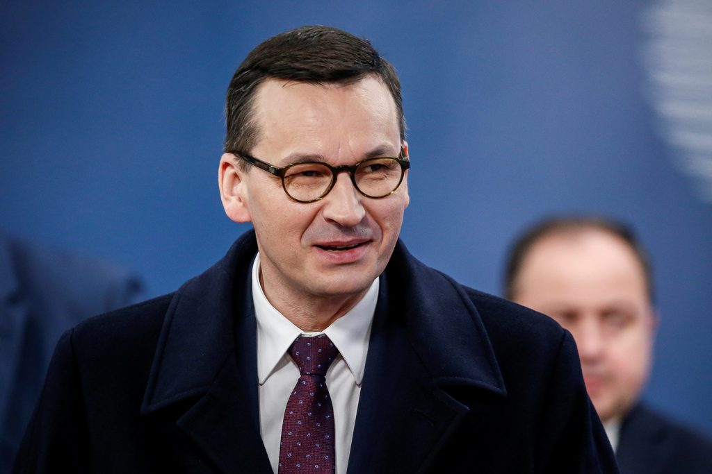 Polish PM calls for transatlantic unity on troop deployments and China