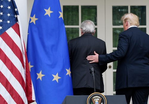 Two years after Rose Garden deal, Europe prefers to wait it out