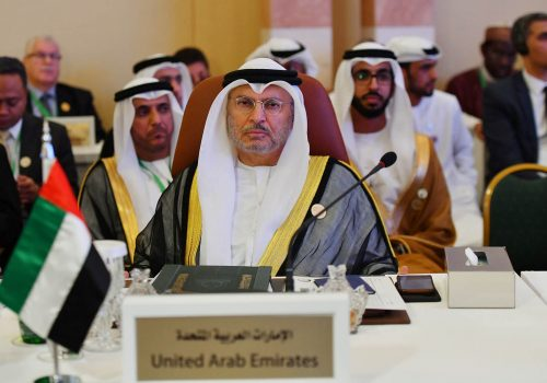 A conversation with H.E. Anwar Gargash, UAE Minister of State for Foreign Affairs