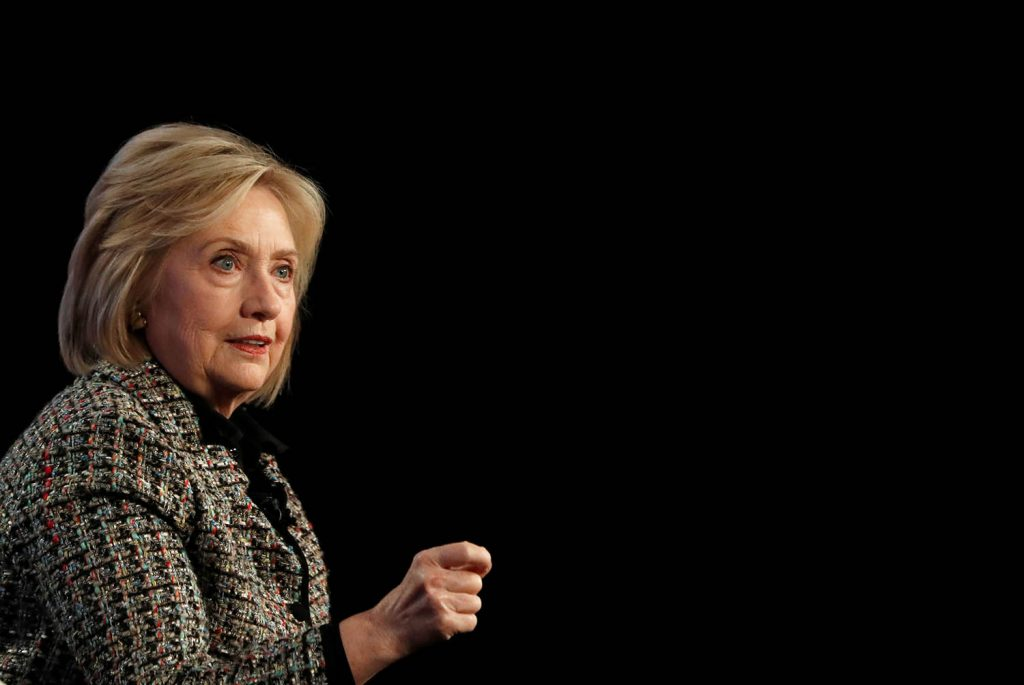 Hillary Clinton: The work awaiting the next US president will be 'overwhelming'