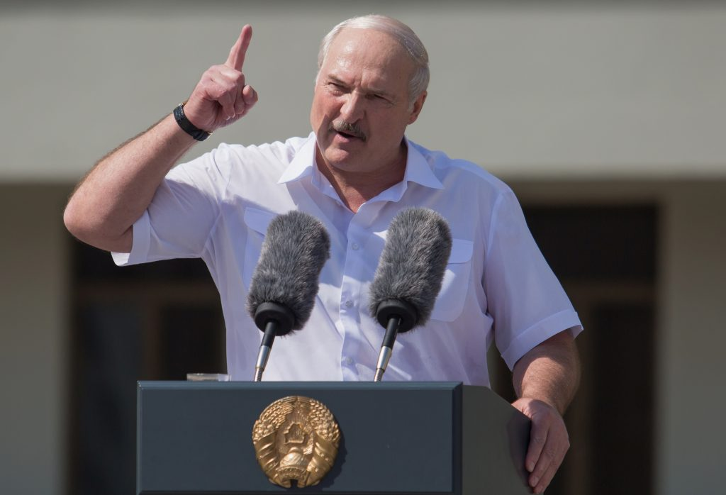 Alarm bells in Ukraine as Lukashenka calls on Putin to rescue his crumbling regime