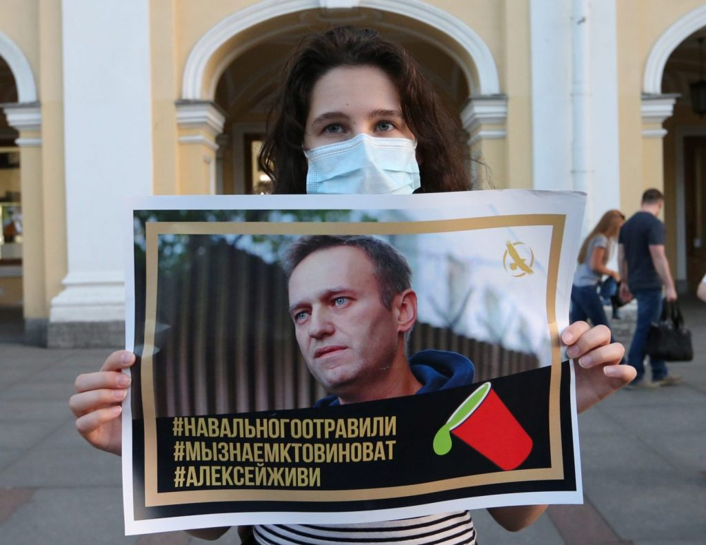 Navalny joins long list of poisoned Putin critics