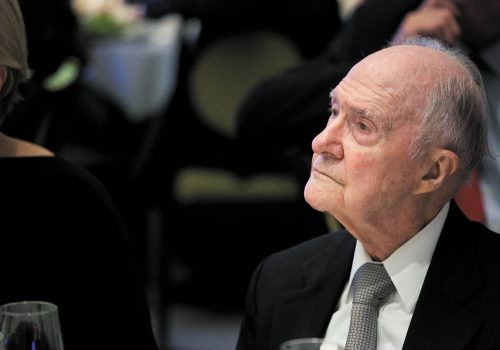 Brent Scowcroft 1925 – 2020