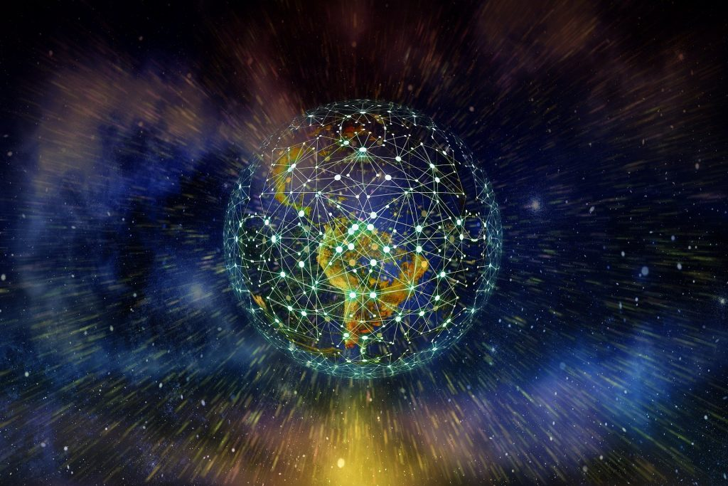 networks spanning the planet