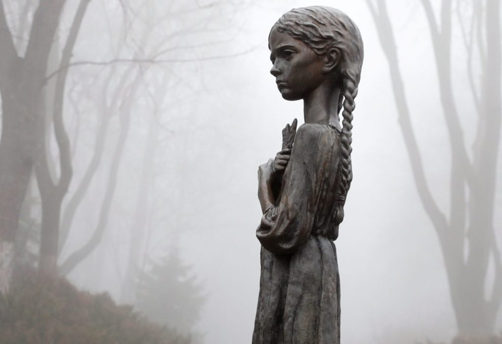 Desecration of genocide monument marks a new low in Ukraine's memory wars