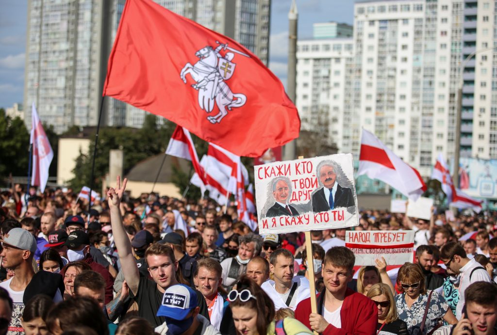 "The EU's ""grave concern"" will not help Belarus"