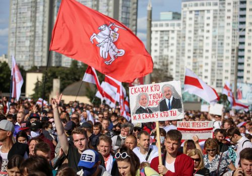 Belarus national awakening offers hope for Ukraine as Soviet collapse continues