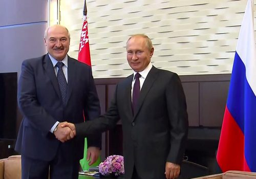 The West finally imposes sanctions on Belarus