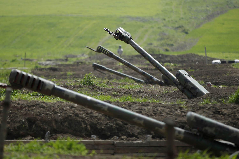 Armenia Azerbaijan fighting large.'