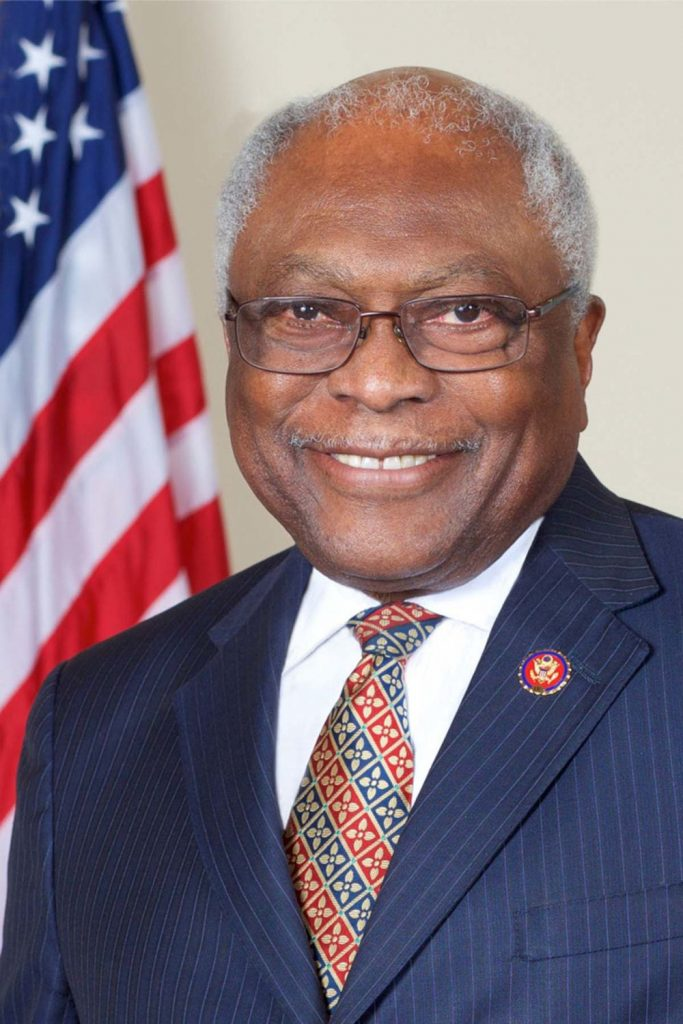 ACFrontPage James Clyburn