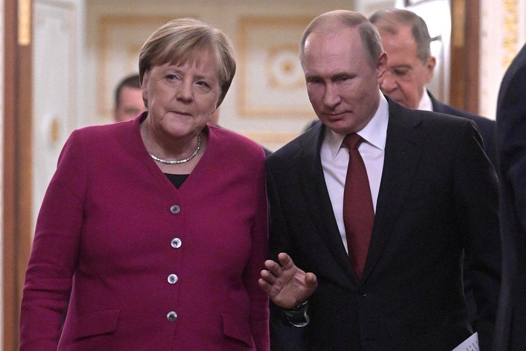 Navalny is Merkel's 'red line' crisis