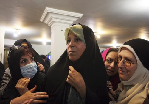 Who is afraid of Iran's Faezeh Hashemi?