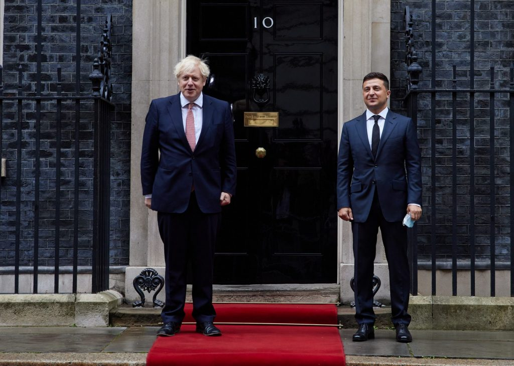 Britain and Ukraine unveil new strategic partnership