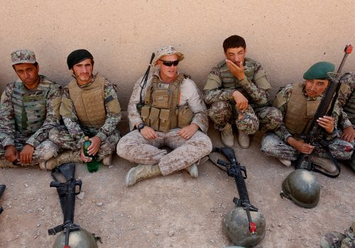 From warriors to peacekeepers: What the future holds for the Afghan National Defense and Security Forces