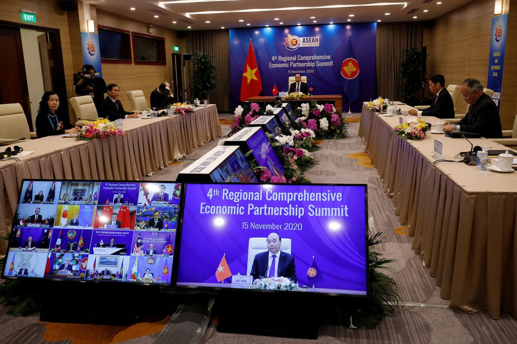 New Asian free trade agreement secures economic space for China
