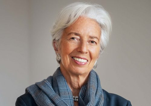 Leadership through crisis: A keynote conversation with Christine Lagarde