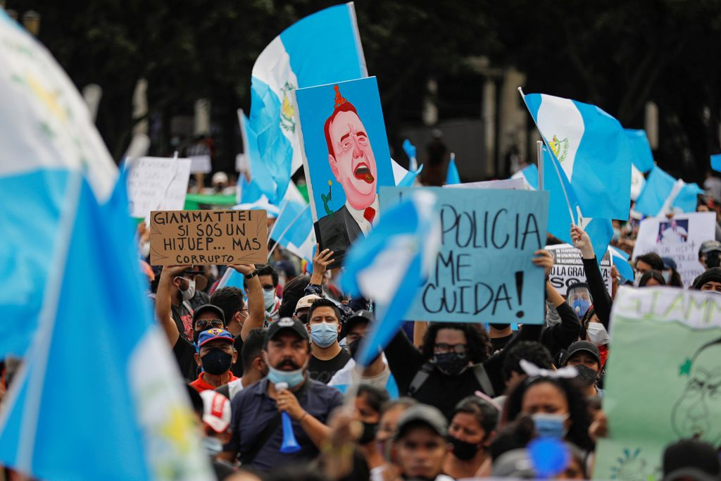 A budget roils a nation. What's happening in Guatemala?