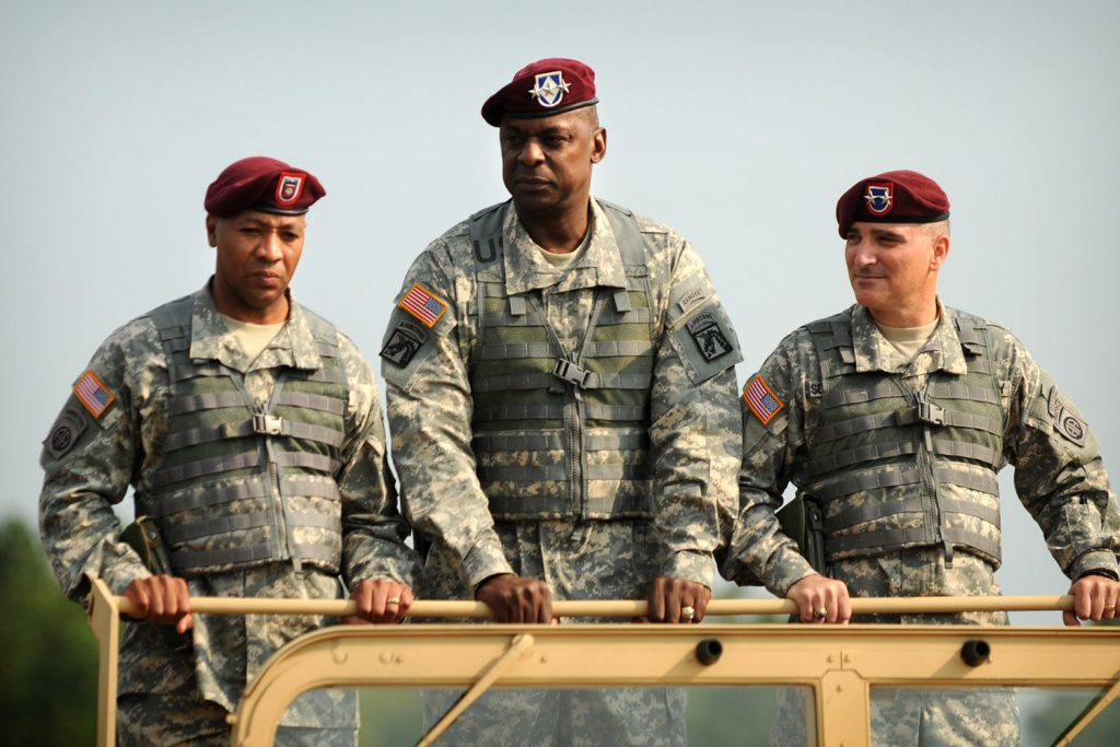 Working hand-in-glove: A first-hand account of Lloyd Austin's leadership in Iraq